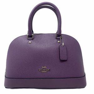 Coach Mini Sierra Satchel Handbag Dusty Lavender